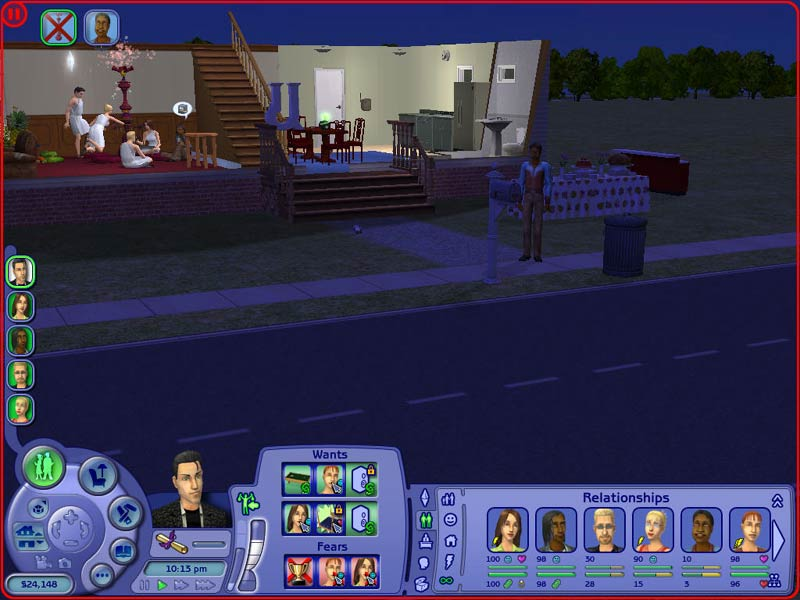 The Sims   University quot    Greek Houses FAMU Online The Sims    College Daze  S   Episode